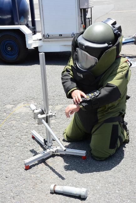 Agente de Unidad de Explosivos
