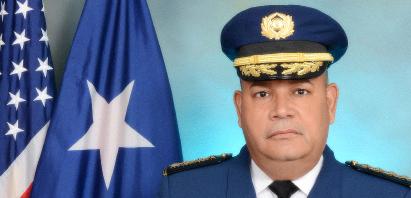 Coronel Orlando Meléndez Superintendente Auxiliar de Operaciones de Campo