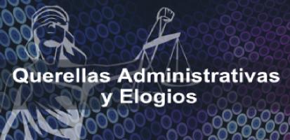 Sección Querellas Administrativas y Elogios