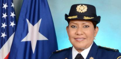 Directora de La Oficina de Reforma Teniente Coronel Clementina Vega