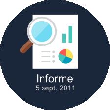 Ver informe del 5 de septiembre del 2011