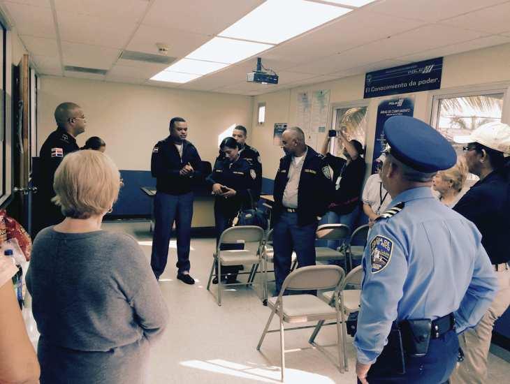 Visita Policía Nacional de RD